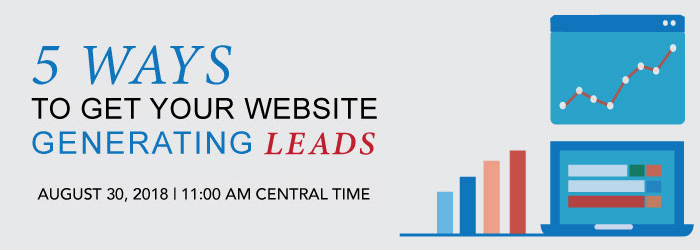 5 ways to get your website generating leads