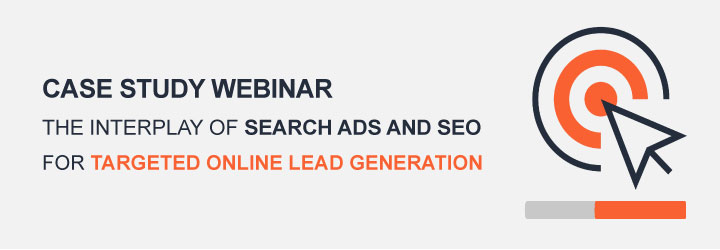 The Interplay of Search Ads and SEO for Targeted Online Lead Generation